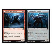 MTG 4x VILDIN-PACK OUTCAST - REIETTO DEL BRANCO VILDIN - EMN - MAGIC