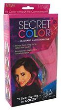 Secret Color Hair Extensions, Pink
