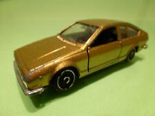 POLISTIL EL63  ALFA ROMEO ALFETTA COUPE - GOLD 1:43 - GOOD CONDITION