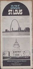 1971 Street Map of St. Louis, Missouri