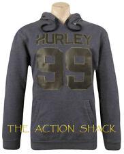 M1435 - Hurley  Hoodie *  NWT Mens Large Heather Navy / Black - #28326-K9