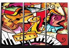 QUADRO moderno astratto JAZZ MUSICA QUADRO MODERNO abstract painting -pintura