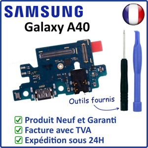 NAPPE DOCK CIRCUIT CONNECTEUR DE CHARGE USB ET MICRO DU SAMSUNG GALAXY A40 A405F