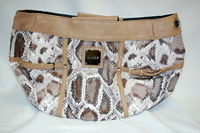 "MICHE ""BIANCA"" DEMI SHELL ONLY (Matte Distressed Snakeskin Print) (#S8482)"