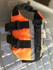 Dog Life Jacket - Paws XXS Preserver Vest Orange