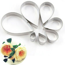 Rose Shaped Cake Silk Flower Mould Mold Stainless Steel Mould Set