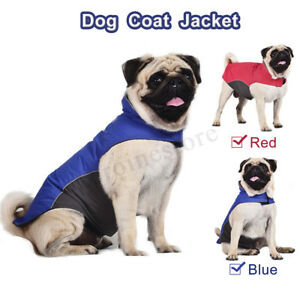 Waterproof Warm Winter Dog Coats Fleece Clothes Dog Padded Vest Pet Jacket  !!