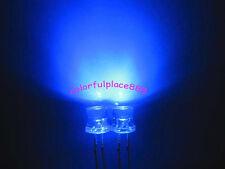 1000pcs 5mm Blue 5000mcd Flat Top Wide Angle Led Lamp Water Clear Bright Leds