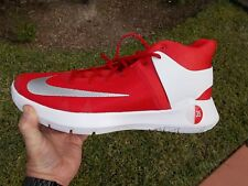NIKE KEVIN DURANT KD TREY 5 III  BASKETBALL RED  & WHITE   SIZE 17.5  856484 663