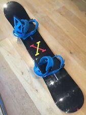 New listing Burton Custom X 160cm Snowboard with Burton Mission Re-Flex Bindings & board bag