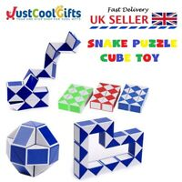 MINI FIDGET SNAKE PUZZLE MAGIC CUBE BOYS ADHD STRESS BIRTHDAY PARTY TOY