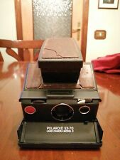 VINTAGE POLAROID SX-70 LAND CAMERA MODEL 2..IN ORIGINAL LEATHER CASE