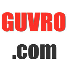 GUVRO.com, Offer Welcome, 5-letter Domain Name, GoDaddy Appraisals: $1,248