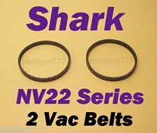 2 Shark Vacuum Belts NV22 Series NV22L NV22T NV22W Navigator Motorized Flr Brush