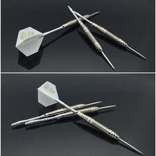 3Pcs/Set 22g Professional Darts +Steel tips+Stems/Shafts+Spare shafts+Case White