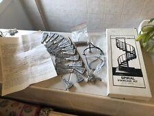 dolls house furniture metal ornate spiral staircase  1.12th B.N.I.B