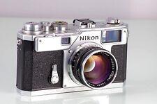 Classic Premium Nikon Rangefinder S3 Original + Nippon Kogaku NIKKOR-S F1.4 50
