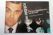 ROBBIE WILLIAMS 'I've Been Expecting You' magazine ADVERT / Poster 11x8 inches