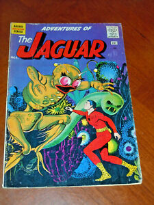 ADVENTURES of the JAGUAR #2 (ARCHIE 1961)  VG (4.0) cond. SPACE INVASION STORY