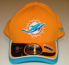 New Era Hat Cap NFL Football Miami Dolphins Reverse 39THIRTY M/L Flex Fit