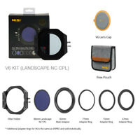 NiSi V6 100mm Filter Holder with Enhanced Landscape CPL Universal for Canon