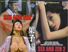 Sex And Zen 1+2 -Hong Kong Kung Fu Martial Arts Action movie Dvd