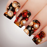 ELEGANT BAUBLES Christmas Nail Decal Water Transfer Xmas Sticker Tattoo