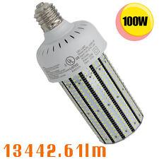 100watt led corn cob bulb E39 E40 retrofit canopy fixture 400W HID 6000K 90-277V