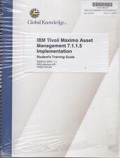 Global Knowledge IBM Tivoli Maximo Asset Managment Student Training Guide & Exer