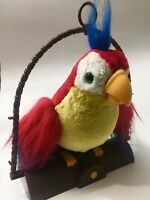 Vintage Gemmy Industries 1991 Pete The Repeat Talking Parrot Plush.