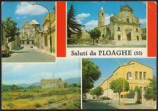 AA1893 Sassari - Provincia - Saluti da Ploaghe - Vedute