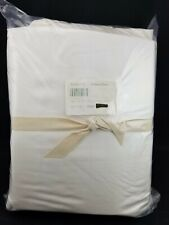 Pottery Barn Tencel Sheet Set Queen White #4552