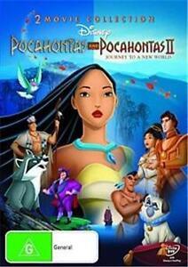 POCAHONTAS 1 & II : NEW 2-DVD