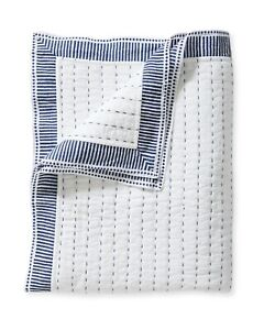 Serena and Lily Sandpiper (Navy) Quilt - NWT - New With Tags - King / Cal King