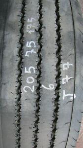 Gomma usata camion 205/75 r17.5 continental lsr1+ pneumatico lineare  -j77