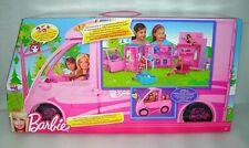 Barbie Glam Sisters Getaway Camper Van Inc 4 Doll