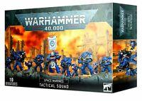>> Space Marines TACTICAL SQUAD - Adeptus Astartes -  Warhammer 40,000 NIB!