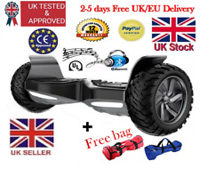 "Electric Hoverboard 9"" Bluetooth Speaker 2 wheel Off-Road Swegway,free bag,£700"