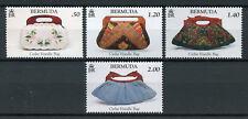 Bermuda 2018 MNH Cedar Handbags Handle Bags 4v Set Art Fashion Stamps