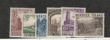 Norfolk Island, Postage Stamp, #13-18 Mint Hinged, 1953