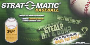 Strat-O-Matic Baseball Game Parts
