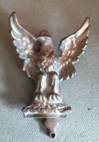 Antique Solid Brass Eagle Door Knocker 14 x 10 cms