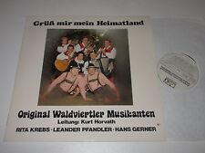 LP/ORIGINAL WALDVIERTLER MUSIKANTEN/KREBS/GRÜß MIR MEIN HEIMATLAND/RST 90 284241