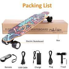 700W Elektrisch Elektro E-Skateboard Longboard mit Fernbedienung Doppelmotor Hot