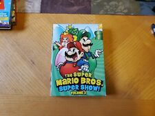 The Super Mario Bros. Super Show! Volume 2 Rare Vintage Box Set of 4 DVDs