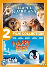 Legend of the Guardians + Happy Feet Double Pack Region 2 New DVD