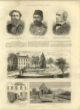1885 Outrage By Moonlighters In Ireland Castle Farm Kerry Mr Curtin Shot