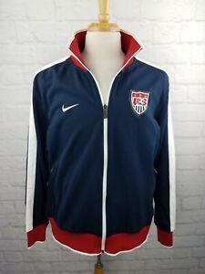 Vintage Nike USA Team Soccer Zip Up Jacket Men's Size XL - EUC Vtg
