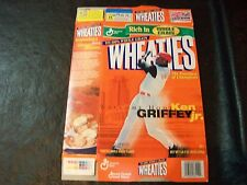 2000 Ken Griffey Jr wheaties box Welcome home