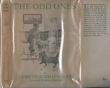 Dog Book THE ODD ONES Irish Setter Scottie Chaundler Signed HBDJFE2ndPrt 1944